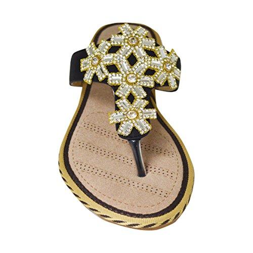Ciara - Sandalias de vestir de Material Sintético para mujer negro