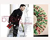Michael Bublé - Christmas Music Album Exclusive Limited Edition Colored Red and Green Splatter Vinyl LP