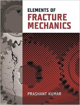 Elements of Fracture Mechanics