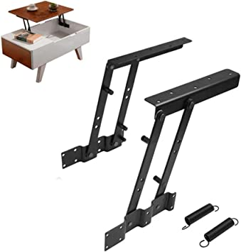 Folding Coffee Table Lift Up Spring Hinges Lift Up Top Coffee