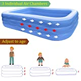 Inflatable Swimming Pool Family Full-Sized