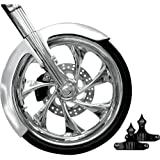 "RC Components Phantom Front Fender Kit for 23"" Wheels FNDRKT23RC-B"
