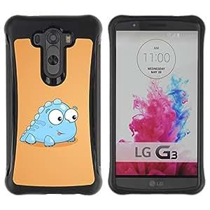 Suave TPU GEL Carcasa Funda Silicona Blando Estuche Caso de protección (para) LG G3 / CECELL Phone case / / Funny Baby Dinosaur /