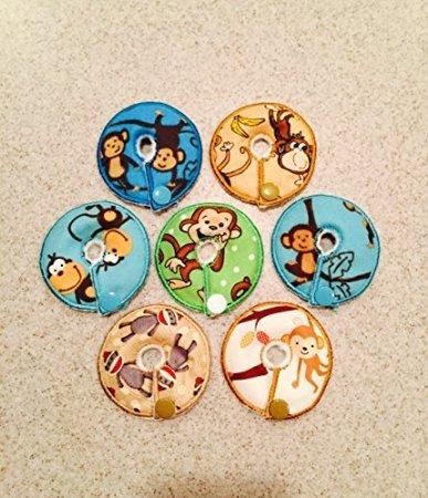 G-tube / Enteral Feeding 7 Pack Pads (Monkeys) (G-tube Kit)