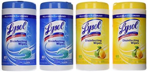 Lysol Disinfecting Wipes Pallet Lemon