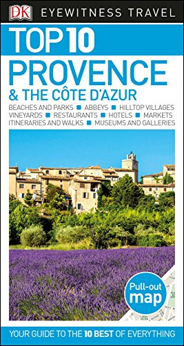 Top 10 Provence and the Côte d'Azur (DK Eyewitness Travel Guide)