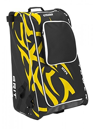 Grit Inc HTFX Hockey Tower 33'' Wheeled Equipment Bag Black HTFX033-B (Black)