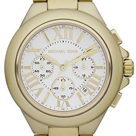 Amazon.com: Michael Kors MK5635 Ladies Camille Chronograph Watch: Watches