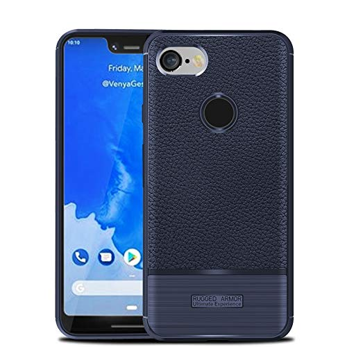 reputable site 3bddf 4995e Google Pixel 3 XL Case, Google Pixel 3XL Case, Cruzerlite Flexible Slim  Case with Leather Texture Grip and Shock Absorption TPU Cover for Google  Pixel ...