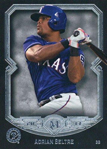 2017 Topps Museum #50 Adrian Beltre Texas Rangers Baseball Card