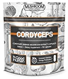 Pure Cordyceps Mushroom | 90 Capsules | Daily Supplement for Natural Energy and Stamina. Support Athletic Activity and Endurance For Sale