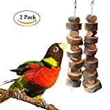 Bwogue Small Animal and Bird Chew Sticks,Natural Apple Branch Chew Toys Teeth Shred Clean Tool (Two piece)