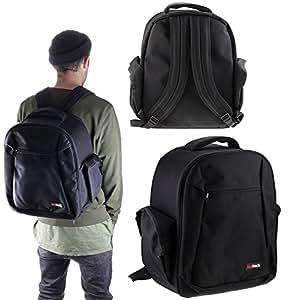 Navitech Digital SLR Camera & Lense Backpack Bag Case For TheCanon EOS 80D DSLR