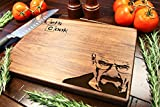 Personalized Cutting Board Engraved Chopping Block - Lets Cook Breaking Bad