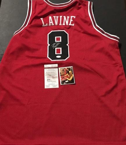 Zach LaVine Signed Jersey - Custom WITNESS COA Red A - JSA Certified - Autographed  NBA Jerseys at Amazon s Sports Collectibles Store ff30067e7