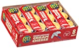 Nabisco, Ritz, Sandwich Crackers with Cream Cheese Filling, 8 Count (1.38oz Each), 10.8 Ounce Tray (Pack of 4)