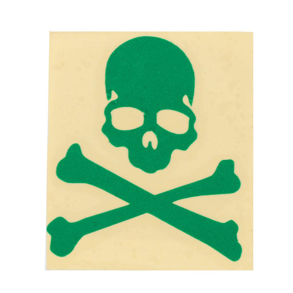 Rouge Hergon R/éfl/échissant Cr/âne Stickers Autocollants Lumineux Casque De V/élo DIY V/élo V/élo VTT Route VTT Vitesse Fixe Squelette Autocollants