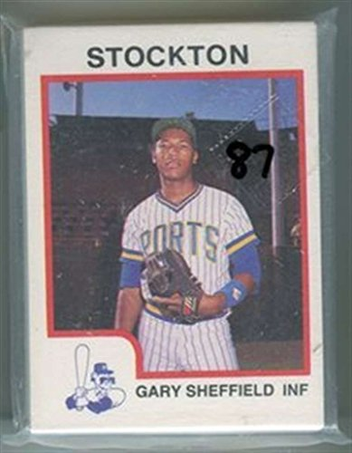 1987 ProCards Stockton Ports Team Set (Milwaukee Brewers) Gary Sheffield MINT RARE