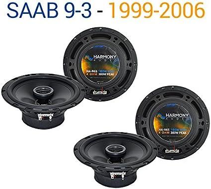 Fits Saab 9-3 1999-2006 Front Door Replacement Speaker Harmony HA-R65 Speakers