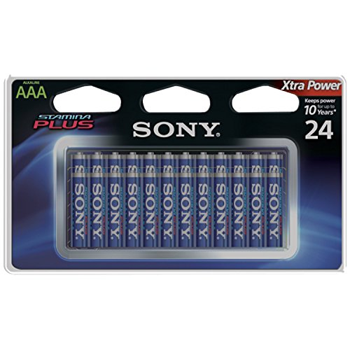 na Plus Alkaline Batteries AAA 24 Pack ()