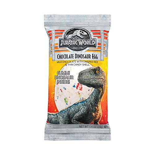 Jelly Belly Jurassic World Chocolate Dinosaur Egg, 1.4-oz, 24 ()