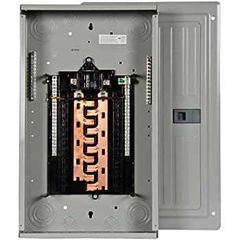 pbcu  amp  space  circuit main breaker load center circuit breaker panels