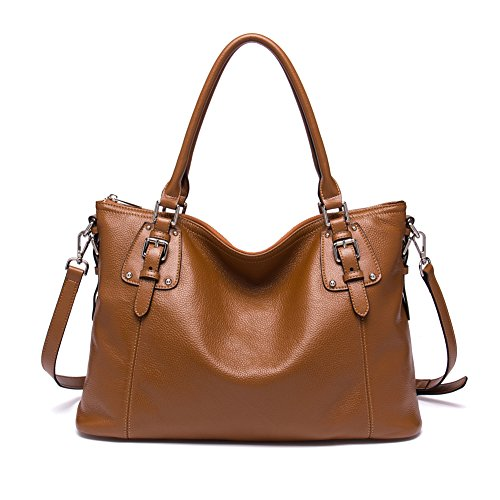 Handbag Purple Satchel brown Handle Bag BOSTANTEN 2 Women Shoulder Top Leather Designer Taro ZqxWSwgE