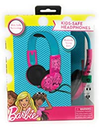 Kid Safe Over the Ear Headphone Barbie