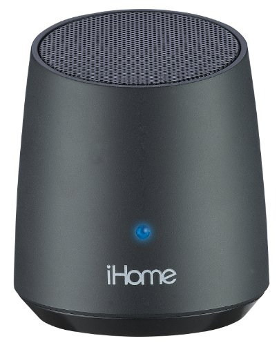 iHome IBT69BX Bluetooth Rechargeable Mini Speaker - Black