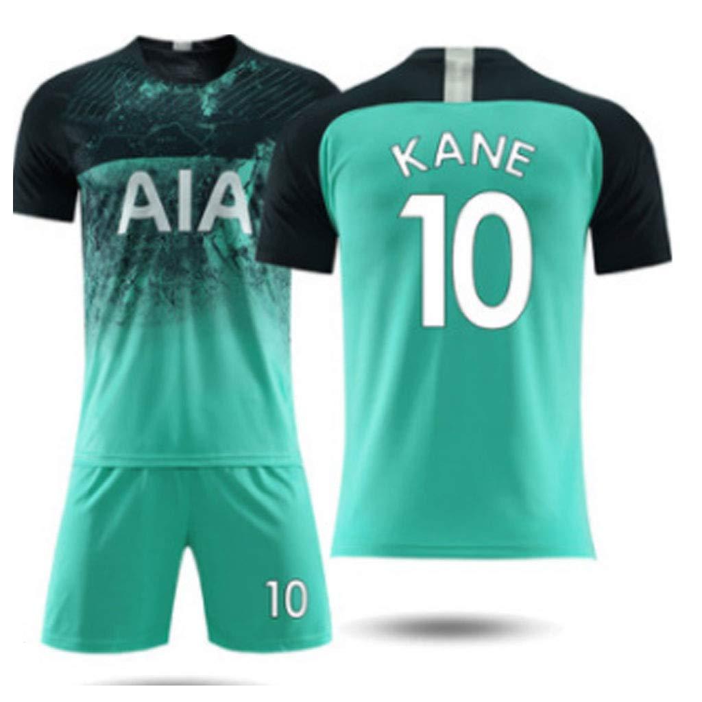 Home /& Away Football Short-Sleeved T-Shirt Shorts Tottenham Jersey 2019 Football Soccer Jersey for Child Adult Sports Football T-Shirt