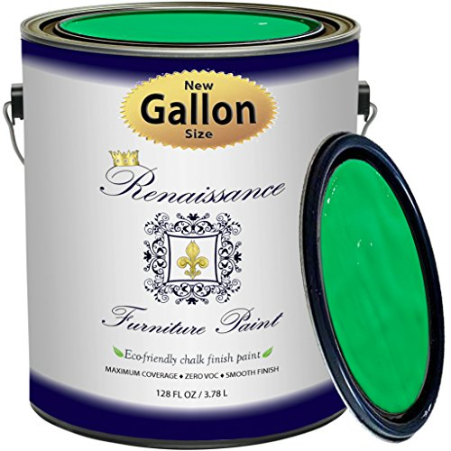 Renaissance Chalk Finish Paint - Jade - Gallon (128oz) - ...