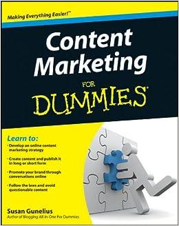 Content Marketing For Dummies: Amazon co uk: Susan Gunelius