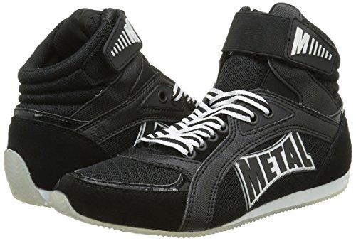 Boxe Botas de Negro Boxeo Viper1 negro nbsp; Metal Altas HOWTnqzR