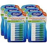 WisdomClean Between Interdental Medium Green Brushes - Pack of 6, Total 120