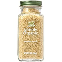 Simply Organic Bottle Sesame Seed Whole, 3.7 oz