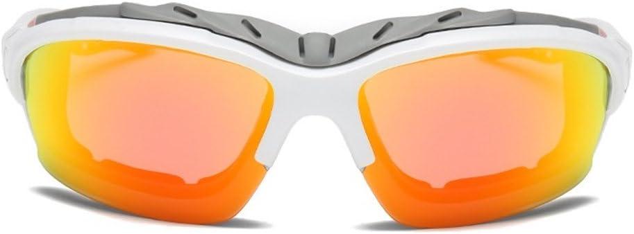 DAUCO Gafas Deportivas Polarizadas Gafas de Ciclismo Unisex para Ciclismo Carrera Deporte Acuaticos Esqui Pesca Kitesurf