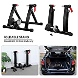 YAHEETECH Magnetic Bike Trainer Stand w/ 6 Speed