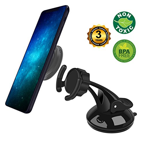 Phone holder for car Pop Car Mount Windshield Short Holder, Cell Phone Stand With Collapsible Grip - For Phones With Expanding Grip, Easier Navigation, Calling & Music by DAXIONGXAX