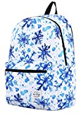 hotstyle TRENDYMAX Cute Backpack for School | 16'x12'x6' | Holds 15.4-inch Laptop | ForzenFlake