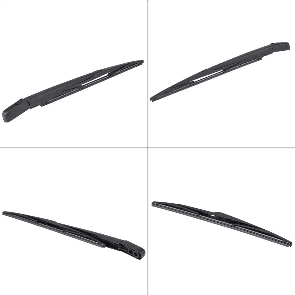 Yctze Rear Wiper Car Rear Windshield Window Windscreen Wipers /& Washers Arm With Integral Wiper Blade Complete Set for B-MW X3 E83 03-10 Automotive Replacement Parts