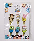 disney pin ice cream - Disney Trading Pins HKDL - Tsum Tsum Ice Cream Cone Booster Set Mickey Minnie Donald Daisy Stitch Scrump Marie LGM Mike Sulley Pooh Piglet