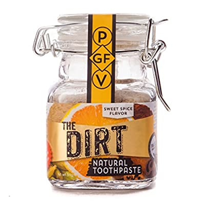 All Natural Tooth Powder For Organic Teeth Whitening - The Dirt