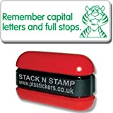 "Primary Teaching Services ""Remember Capital Letters and Full Stops"" School Marking Stamper"