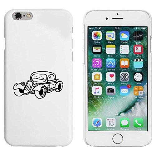 Weiß 'Weinlese-Auto' Hülle für iPhone 6 u. 6s (MC00087415)