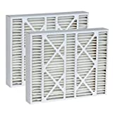 Tier1 Replacement for Totaline 16x25x5 Merv 11 P102-1625 Air Filter 2 Pack
