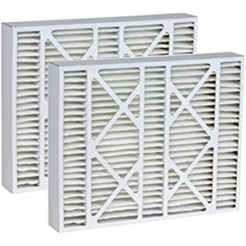Tier1 Replacement for Bryant 19x20x4-1/4 Merv 8 AC Furnace Air Filter 2 Pack
