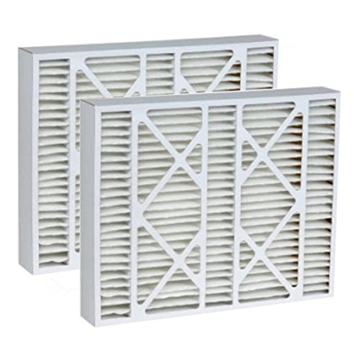- Tier1 20x25x5 Merv 8 Replacement for Bryant FILBBCAR0020 Air Filter 2 Pack