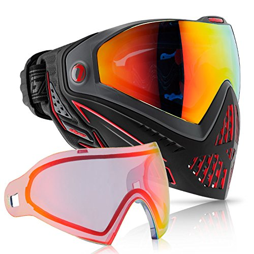 Dye i5 Paintball Goggle (Fire with Bronze Fire Thermal Lens Combo) by Dye