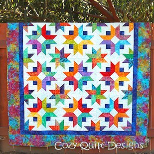 Pattern Cozy Quilt Designs (Pattern~Daybreak Quilt Pattern by Cozy Quilt Designs)