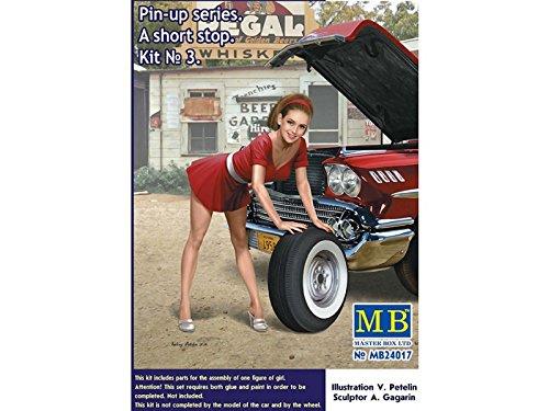 MB24017 - Figurine Pin-Up Series A Short Stop Kit Master Box No. 3 ...
